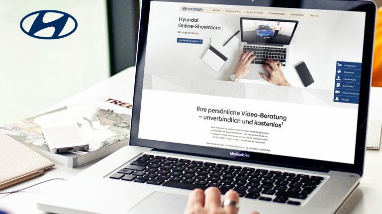 Neuer Hyundai Online Showroom